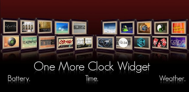 One More Clock Widget v1.4.1