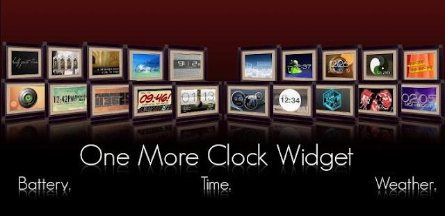 One More Clock Widget v1.4.1