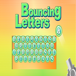Bouncing Letters Game