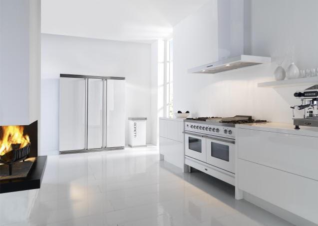 Interieurbouw trend de witte keuken - Trendkleur keuken ...