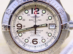BREITLING SUPEROCEAN 5000ft / 1500M 41MM SOFT CREAM DIAL - CHRONOMETRE - AUTOMATIC