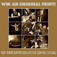 Enter to win an original print at Superflash.org