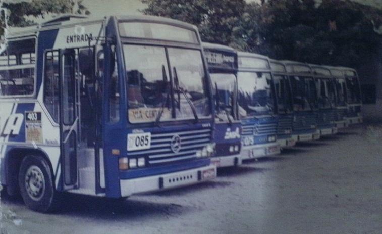 Ônibus para o Jardim América e Itaóca