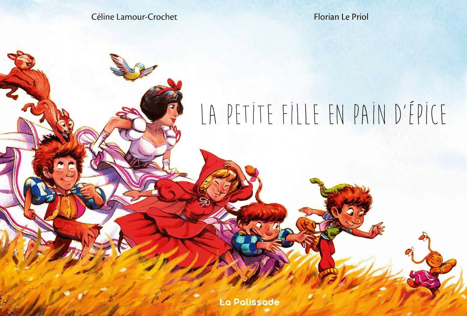 La petite fille en pain d'épice