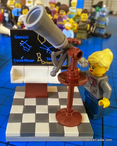 LEGO Ideas Research Institute set 21110 female astronomer scientist