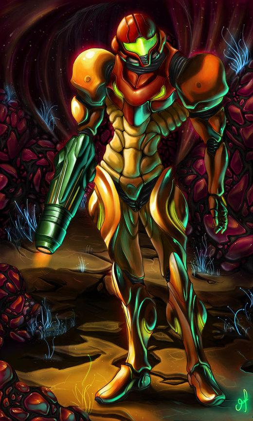 samus aran II por Xmagician20X