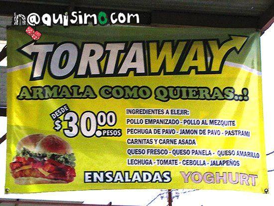 Tortaway - Anuncios Nacos