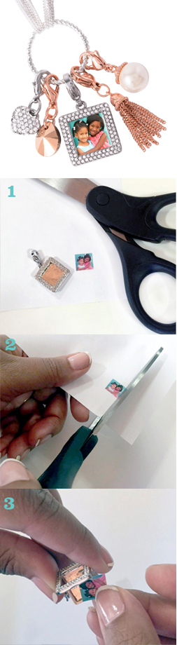 This Origami Owl mini Square Pave Photo Locket Dangle holds a small picture and attaches to your necklace or bracelet just like a Dangle. It is perfect on a Dangle Bracelet, Custom Chain or Dream Catcher Chain. Use it to capture memories of loved ones or just your favorite picture. | Create yours today at StoriedCharms.com