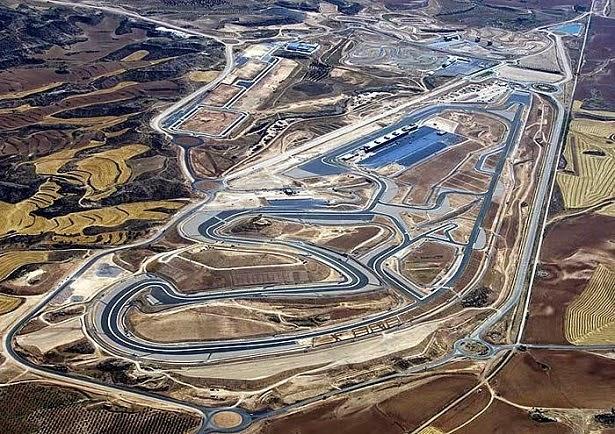 caracterisiticas del circuito de motorland aragon