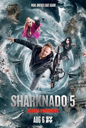 Torrent Filme Sharknado 5 - Voracidade Global 2017 Dublado 1080p 720p FullHD HD HDTV completo