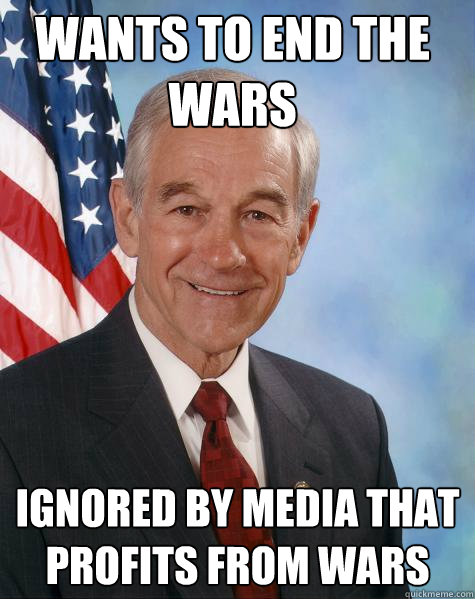 ron paul on war