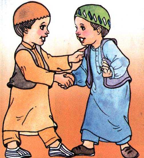 Muslim cartoon wallpaper
