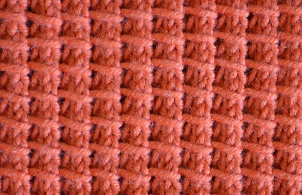 Textured Knitting : Textured knits bamboo stitch