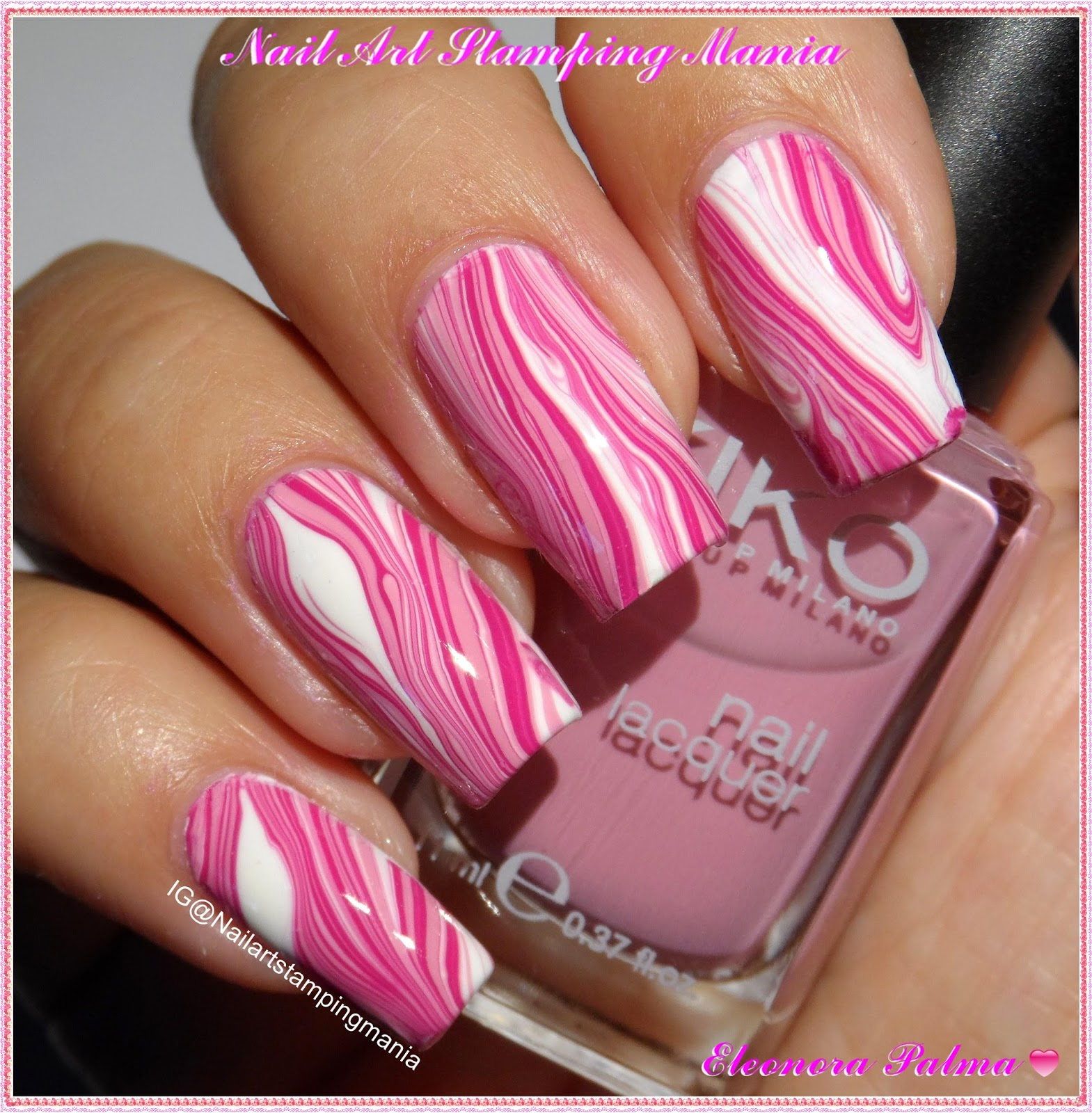Nail Art Stamping Mania: Water Marble Simplified With Liquid ...