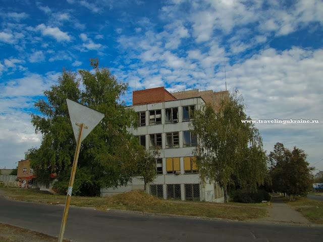 Разрушения Славянск 2015