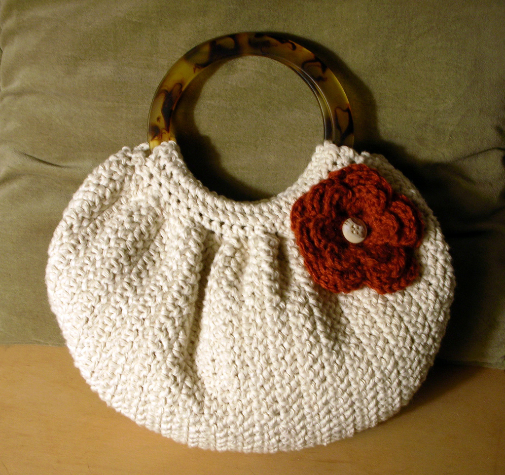 Knitted Handbags Patterns : bag patterns model