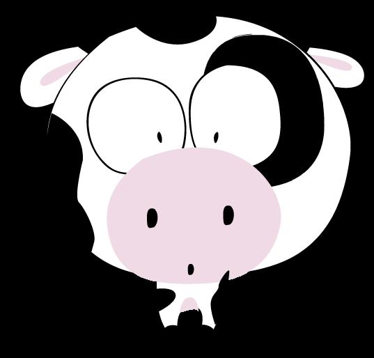 Como hacer una vaca dibujo - Imagui