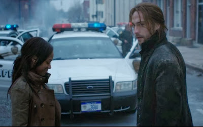Lieutenant Abbie Mills Nicole Beharie Tom Mison Ichabod Crane screencaps Sleepy Hollow
