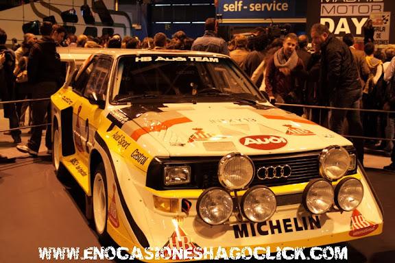 Audi Quattro Grupo B Madrid Motor Days