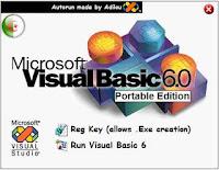 vb, visual, basic, portable, free, download