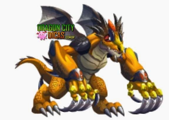 Dragão de Garras Gigantes
