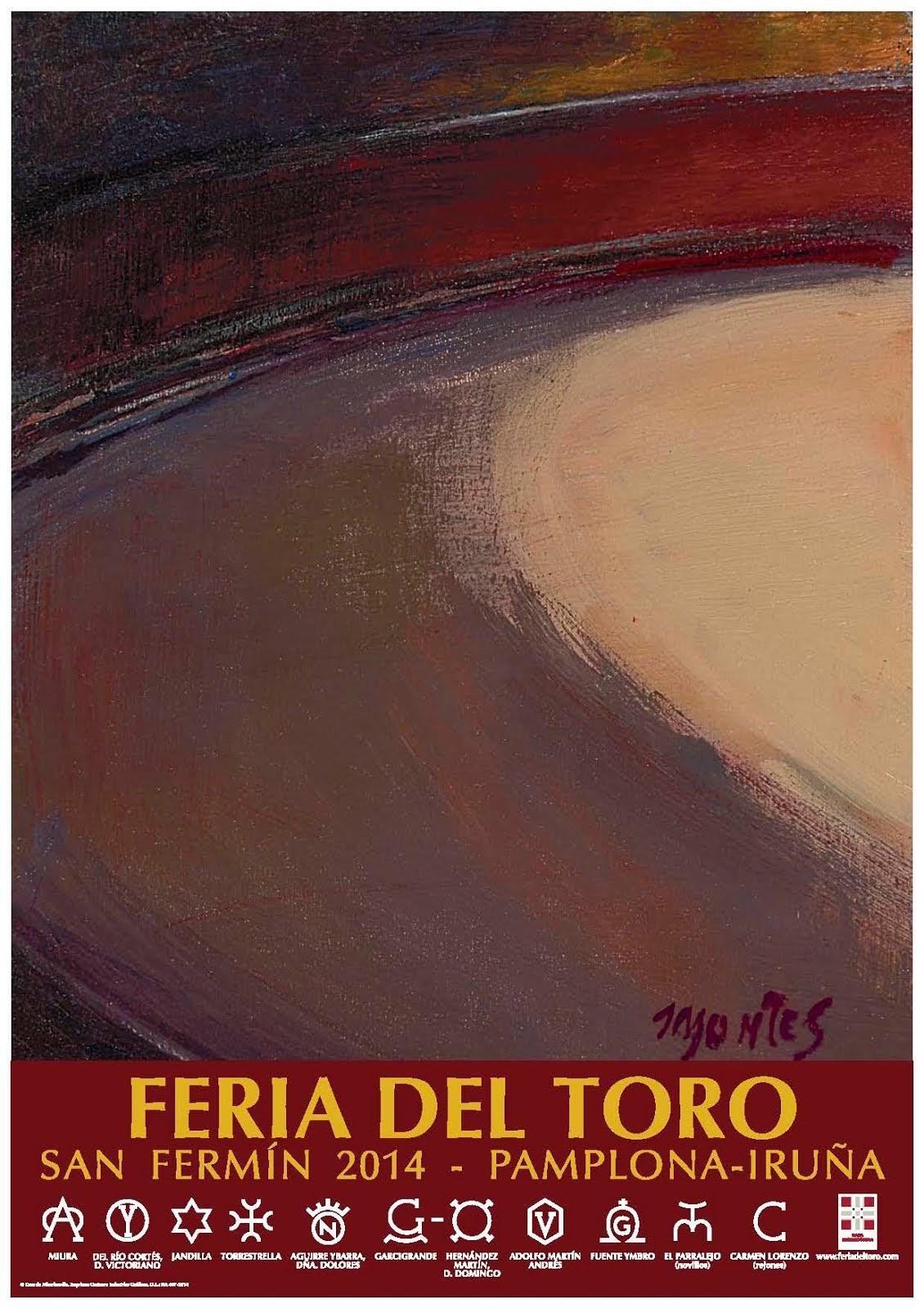 Carteles Feria del Toro 2014