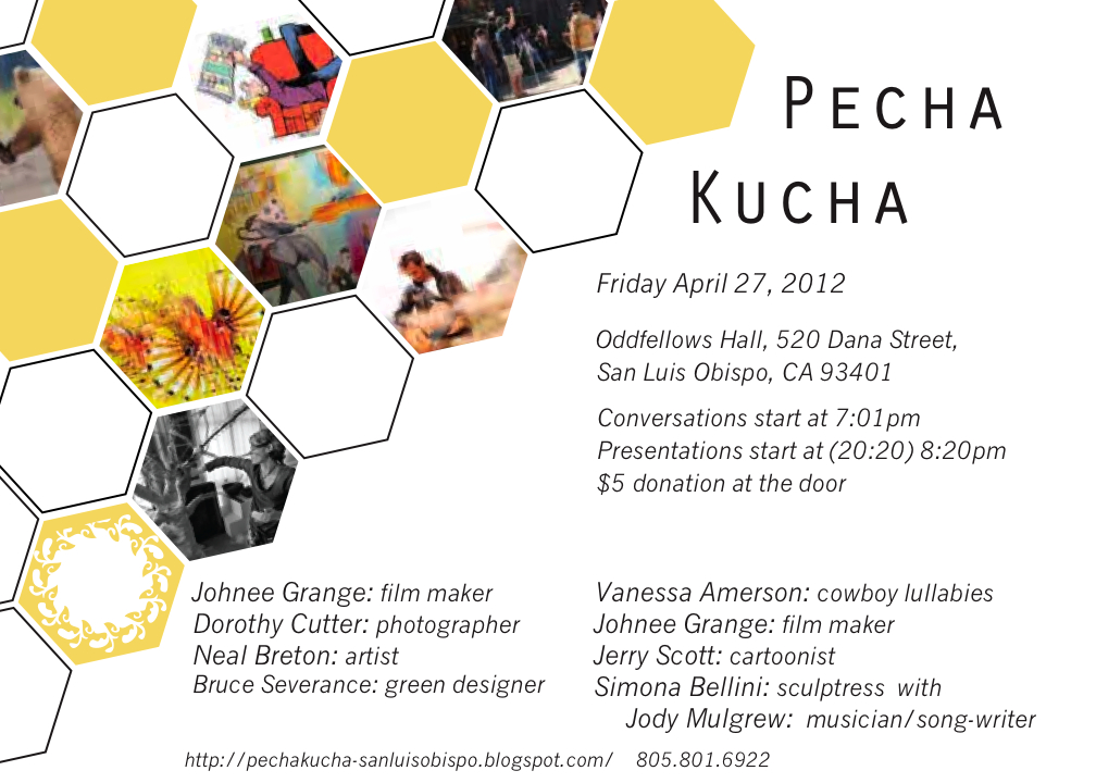 how to start a pecha kucha