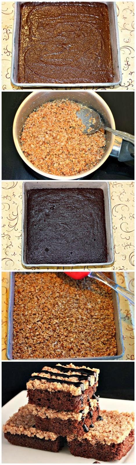 Paleo German Chocolate Brownies
