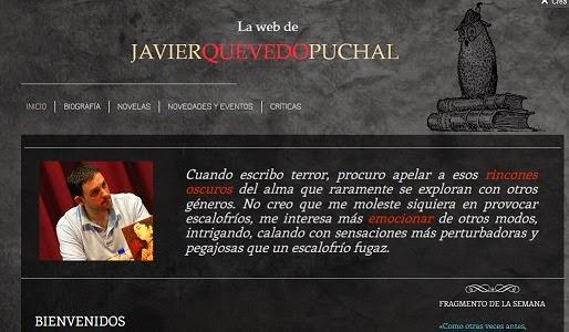 WEB OFICIAL DE JAVIER QUEVEDO PUCHAL