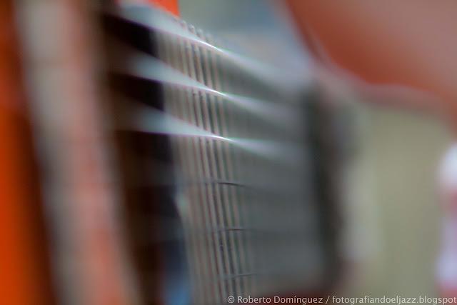 Detalle de la guitarra de Juan Cortés
