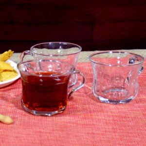 Pepperfry: Buy Blinkmax Diamond curve tea cups 6 Pieces at Rs.189