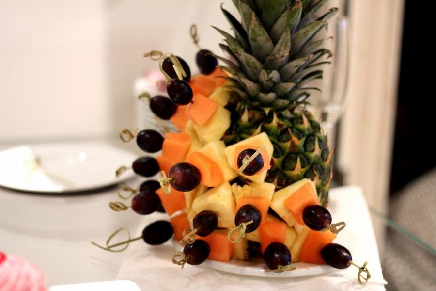 vegan food ananas obst