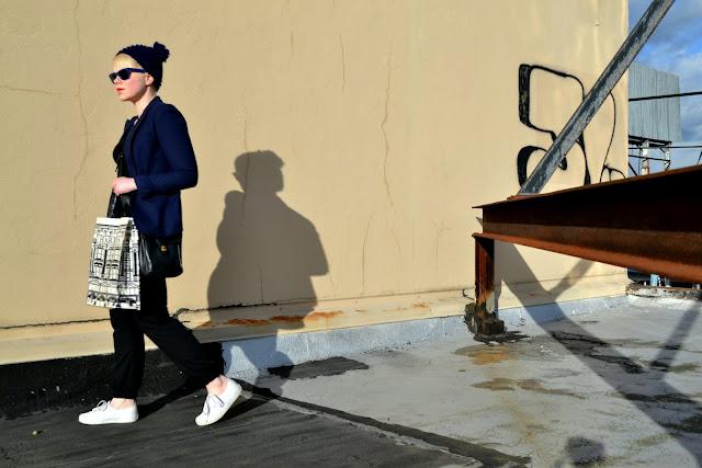 winter fashion, rayban sunglasses, fleur d'elise, classic vans