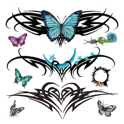 Star  Tattoos on Star Tattoos For Girls Tattoos Designs Lower Back Tattoos