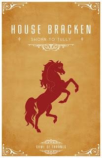 emblema casa Bracken - Juego de Tronos en los siete reinos
