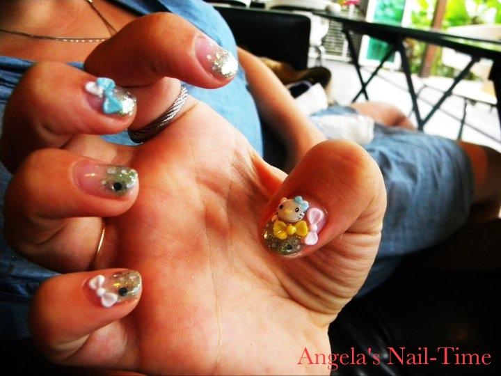 Angelas Nail Time 3d Nail Art Thailand 2011