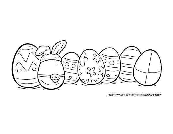 Angry Birds Eggs Coloring Pages
