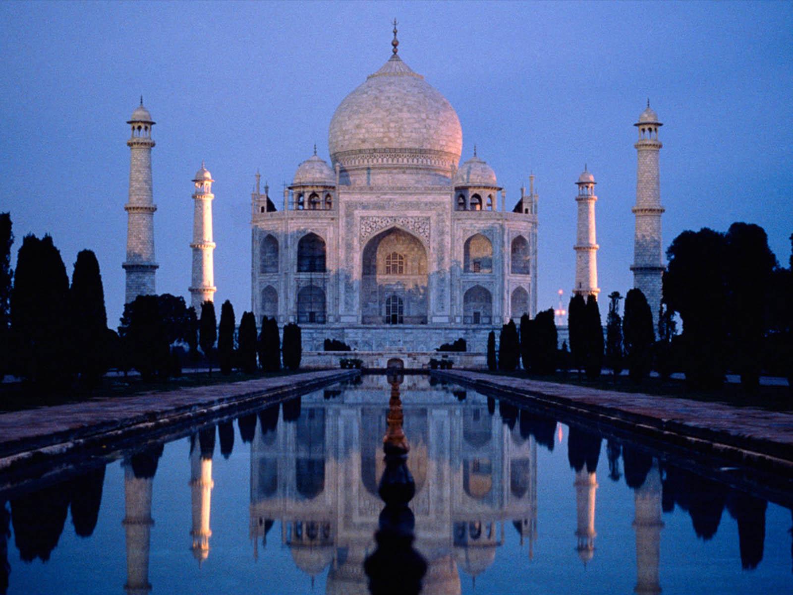 The Taj Mahal Romantic Spot Of Delhi World