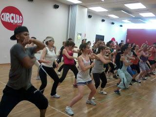 ZUMBA en Segovia Master class en Circulo de Baile MADRID