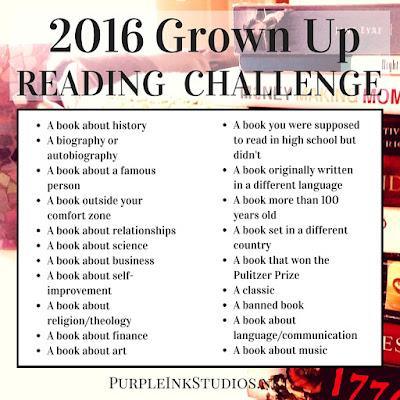 http://purpleinkstudios.net/2016-grown-up-reading-challenge-2/