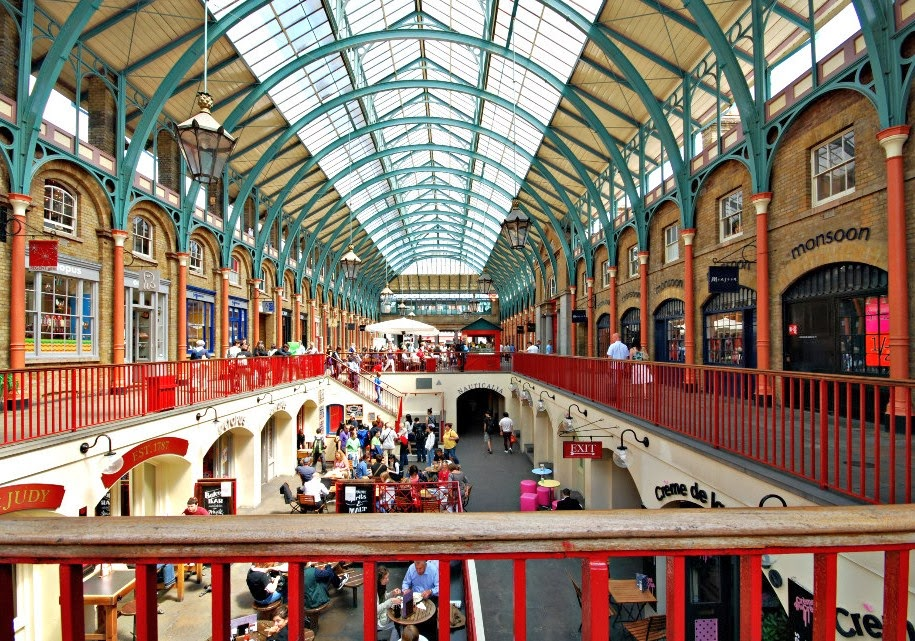 ART And ARCHITECTURE Mainly Covent Garden Market - Before And After