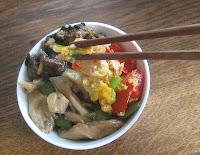 Drei chinesische Gerichte für Arthurs Tochter