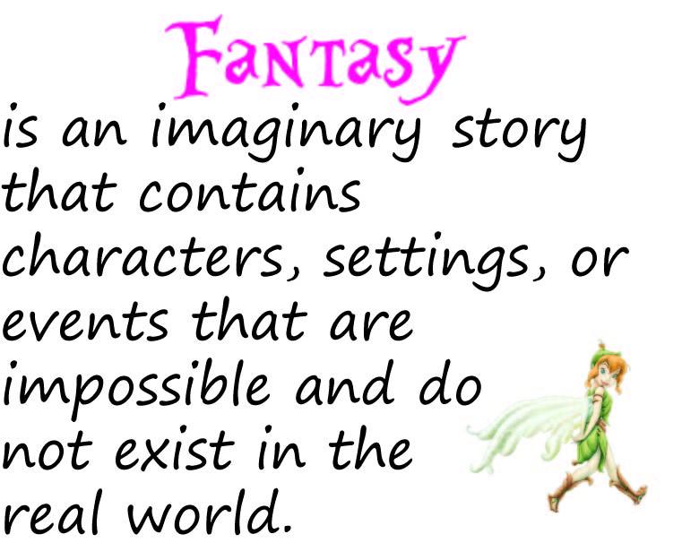 Fantasy Genre - Lessons - Tes Teach
