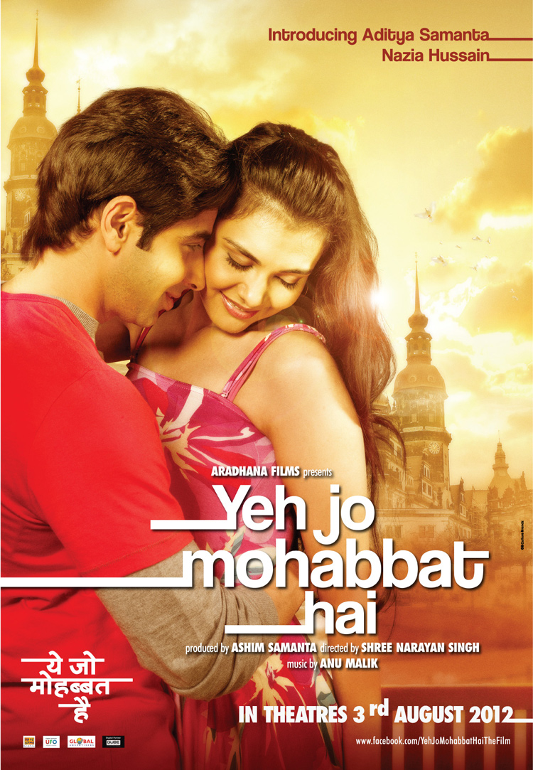 Yeh Jo Mohabbat Hai' Bollywood Film First Look Posters ~ INDIAN CINEMA