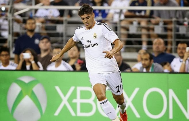 Arsenal loan Alvaro Morata from Real Madrid