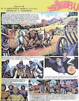 burebista desene daci benzi desenate bd istorice valentin tanase revista cutezatorii comics romania