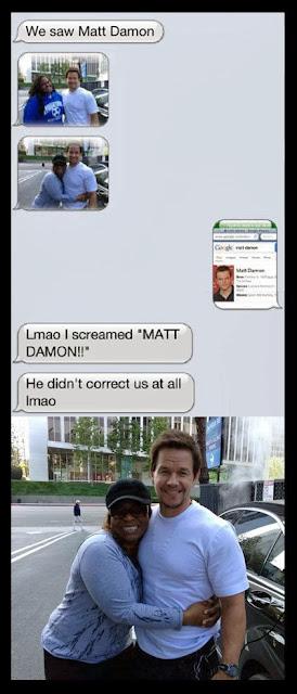 funny texts - matt damon