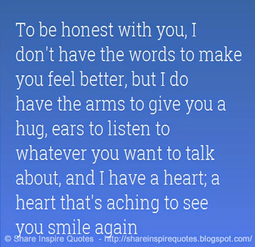 To Be Honest I Love You Quotes : The best collection of quotes and sayings for every situation in life.