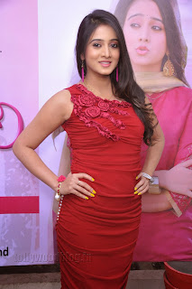 Harshika Pooncha latest Pictures in red 002.jpg