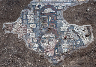 Newly Discovered Mosaics In Galilee Show Stunning Portrayal of Samson